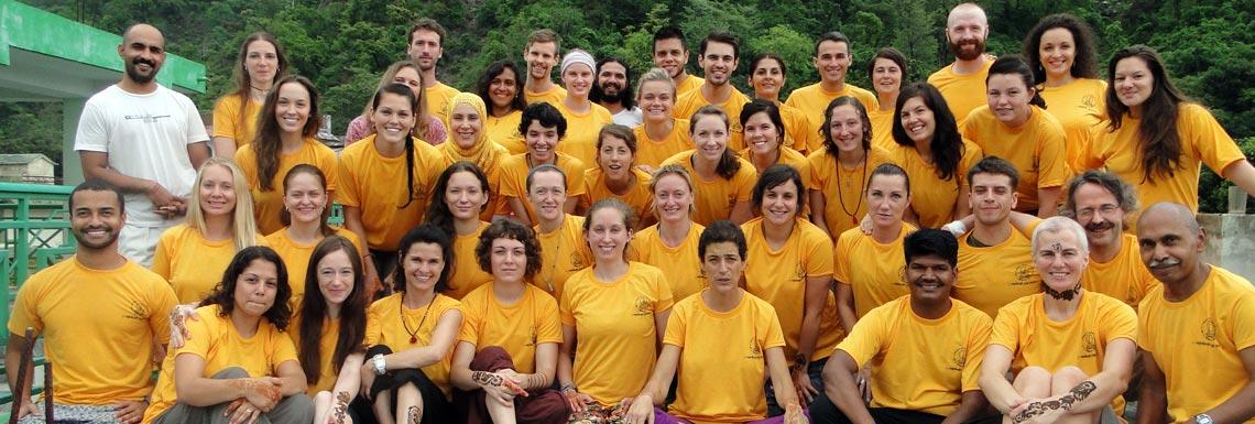 Йога в Ришикеше