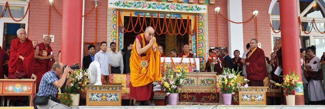 Далай Лама в Дхарамшале